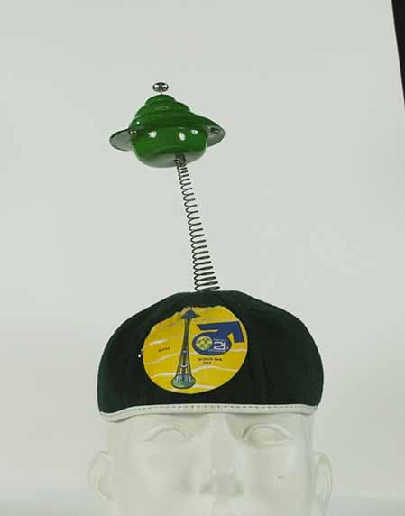 [souvenir beanie from the Seattle World's Fair]