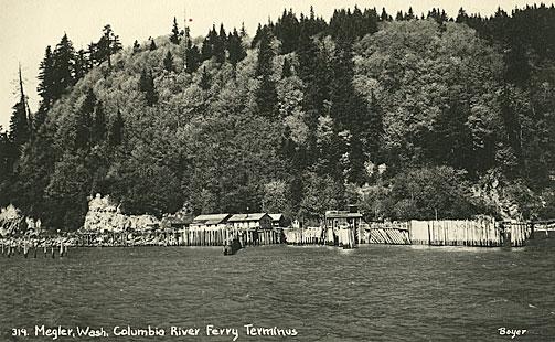 Megler, Wash. Columbia River ferry terminus