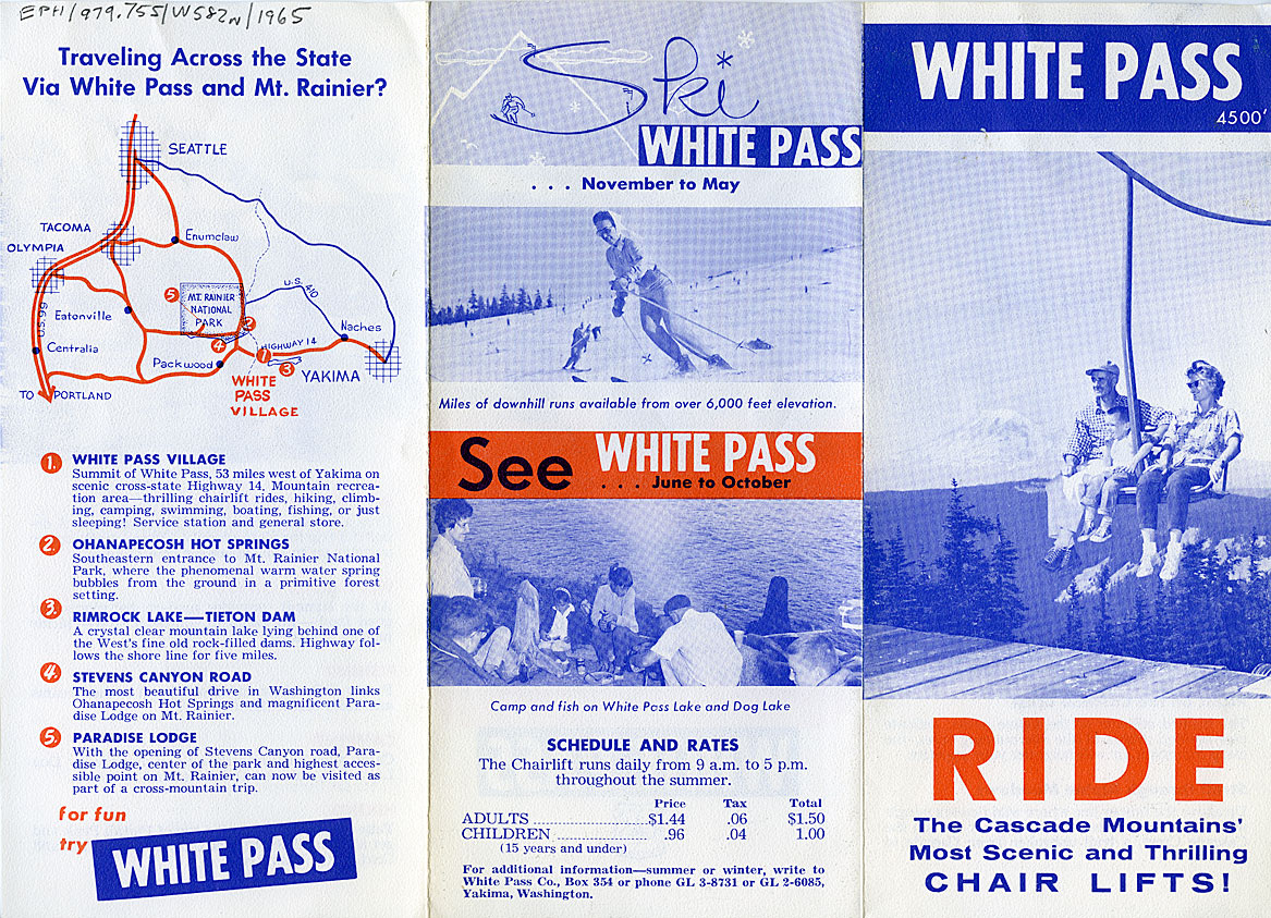 White Pass, ride the Cascade Mountains' most scenic and thrilling chair lifts!
