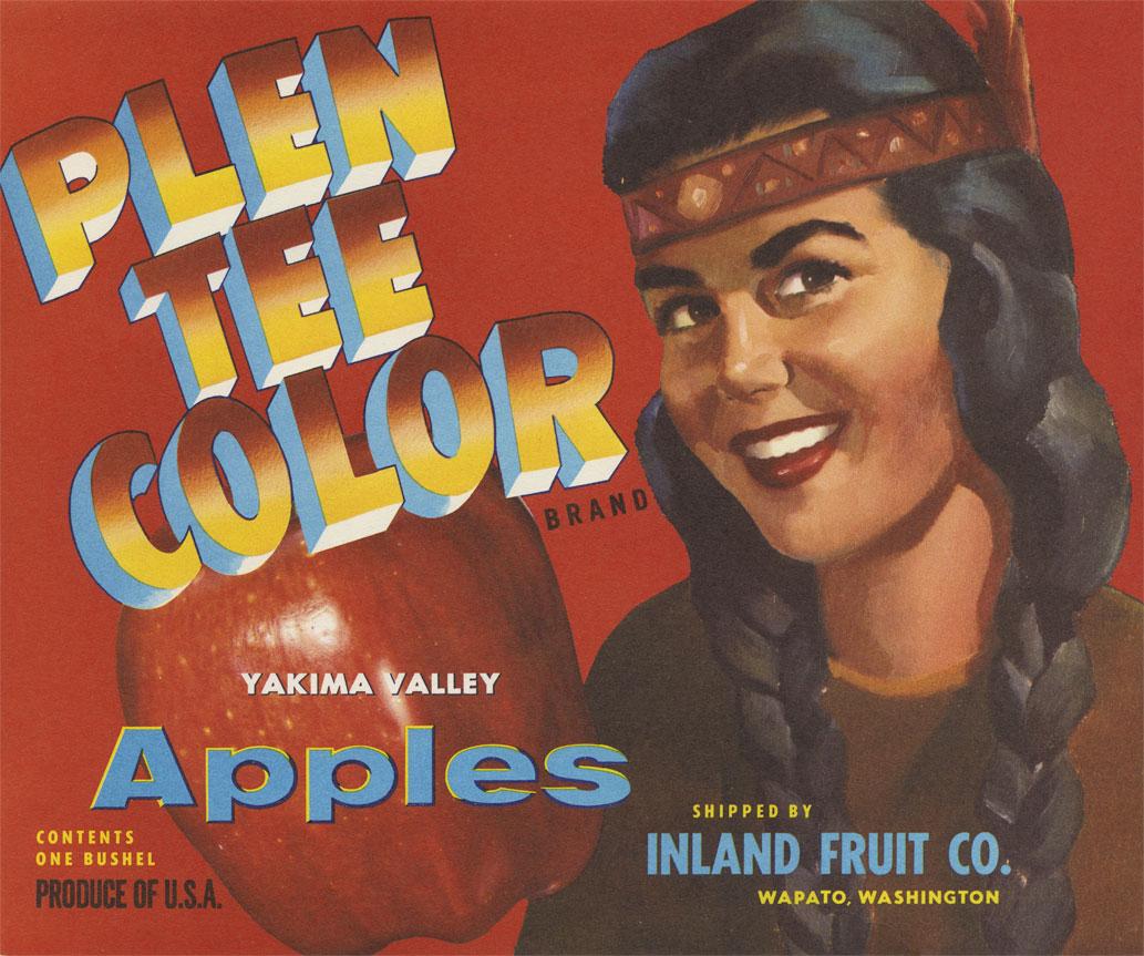 Plen Tee Color Yakima Valley Apples