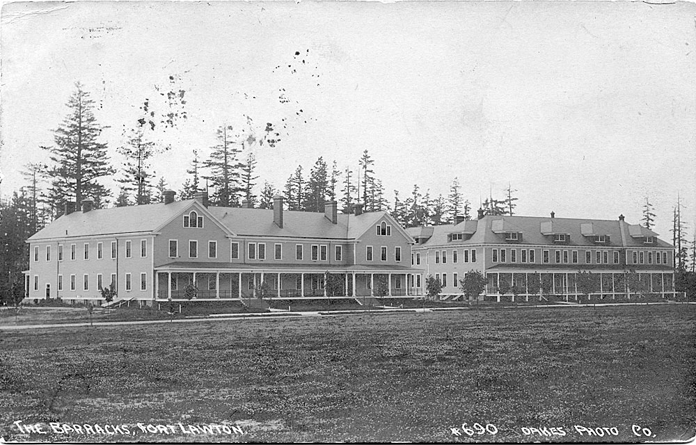 The Barracks, Fort Lawton [Seattle, WA]