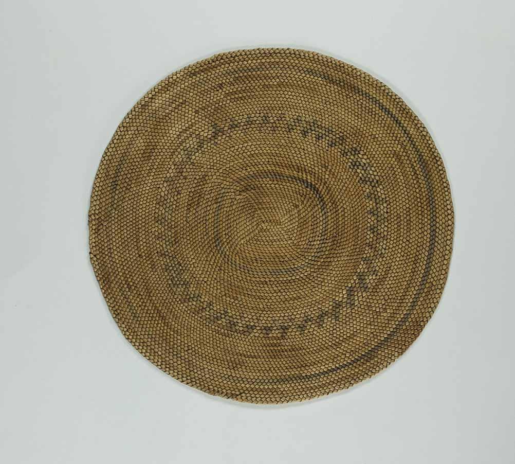 [Basketry mat]