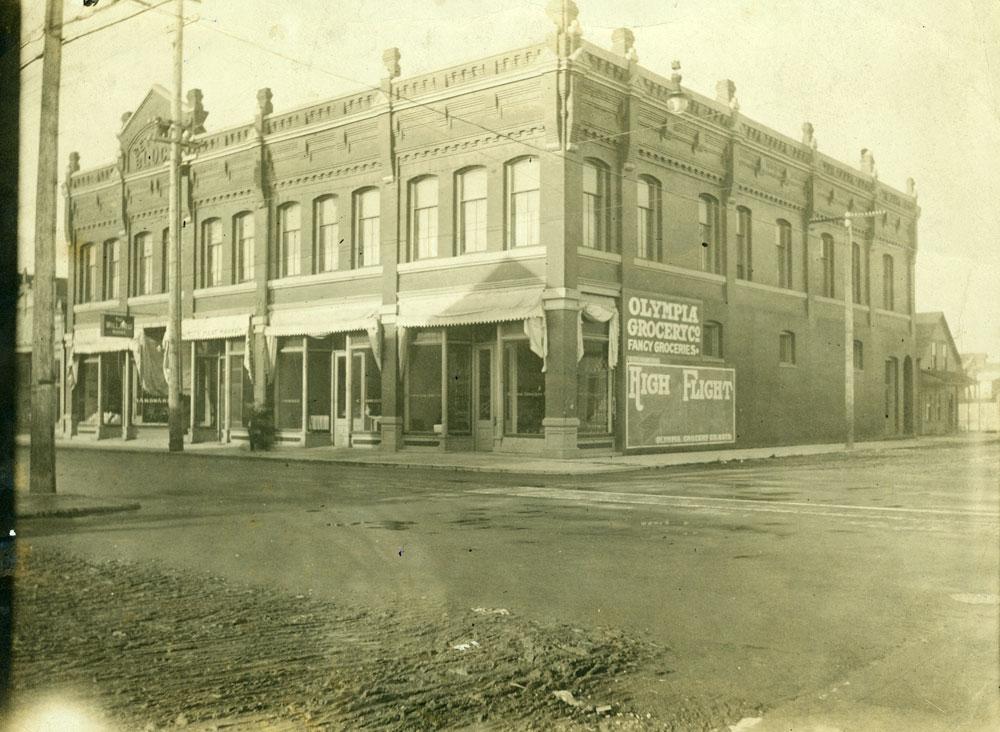 [Willard Hotel - Bettman Block, 4th St, Olympia Washington 1910]