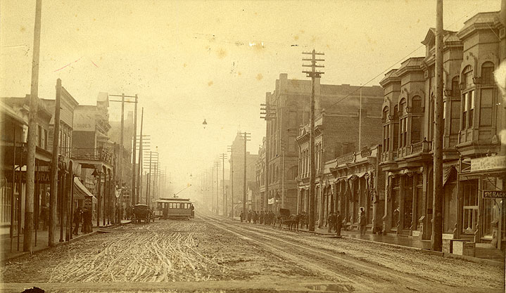 [Main Street, Olympia, Looking South]