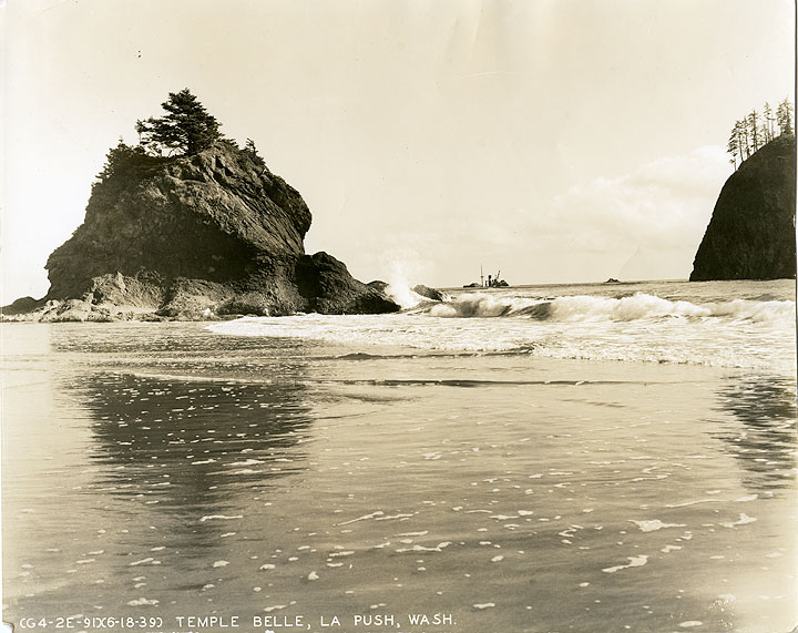 Temple Belle, La Push, Wash.