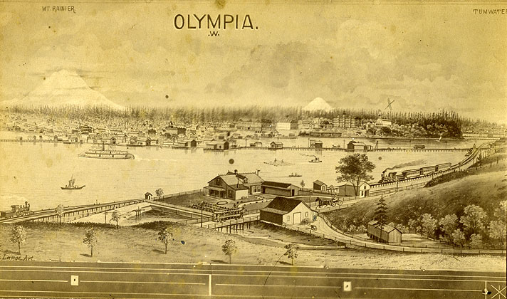 A Christmas Greeting from the State of Washington - Olympia